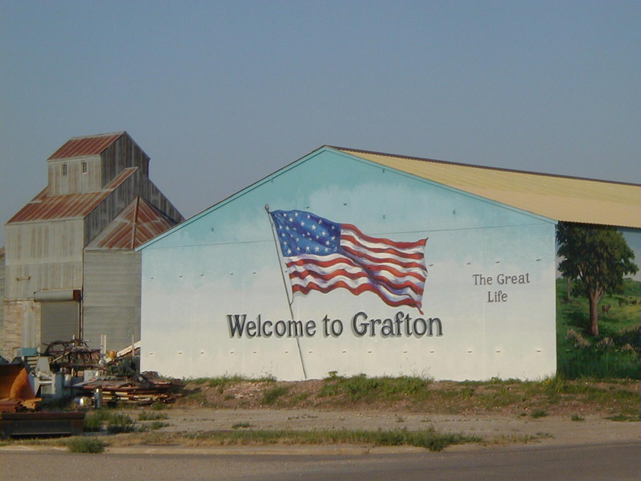 Mural in Grafton